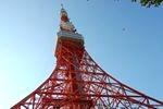 昼の東京タワー