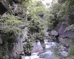 昇仙峡の川の流れ