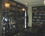 ロックハート城内の図書館