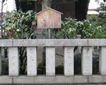 歴代横綱の名前を刻んだ石碑