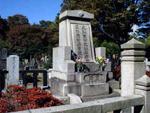 最近TVでも見かける夏目漱石の墓
